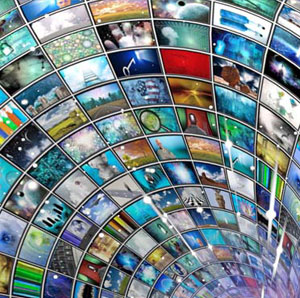 multimedia wormhole rotated